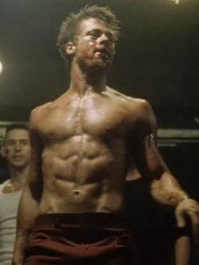 Is Brad Pitt in fight club the GOAT physique ...
